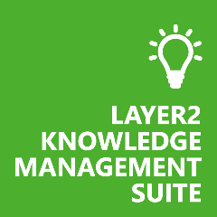 Logo of our Layer2 Knowledge Management Suite big