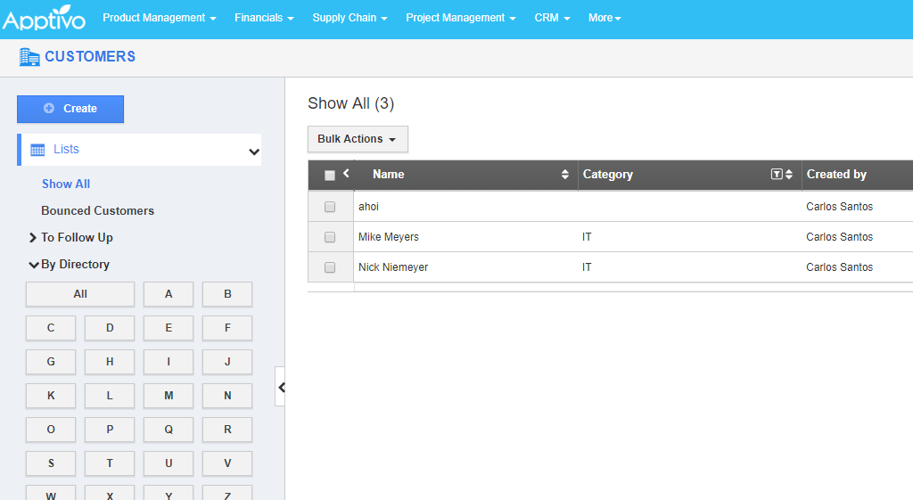 Data of apptivo ready for integration with SharePoint