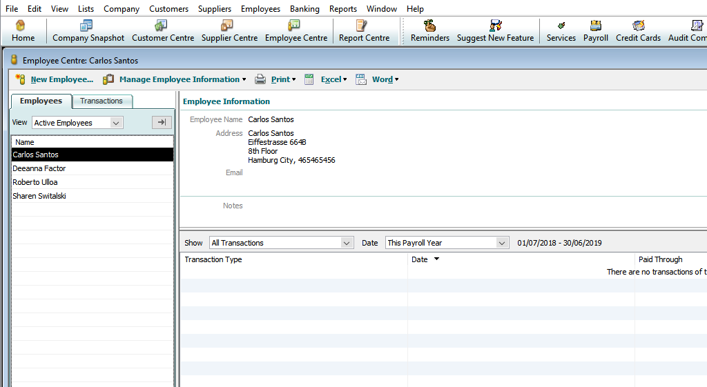 Data of Reckon Desktop ready for integration with SharePoint