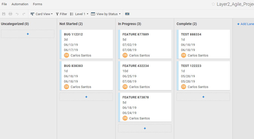 Smartsheet integration ready
